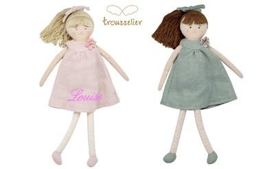 Les poupées Trousselier à personnaliser
